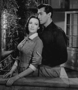 Linda Darnell and Rick Jason in 'This is My Love'